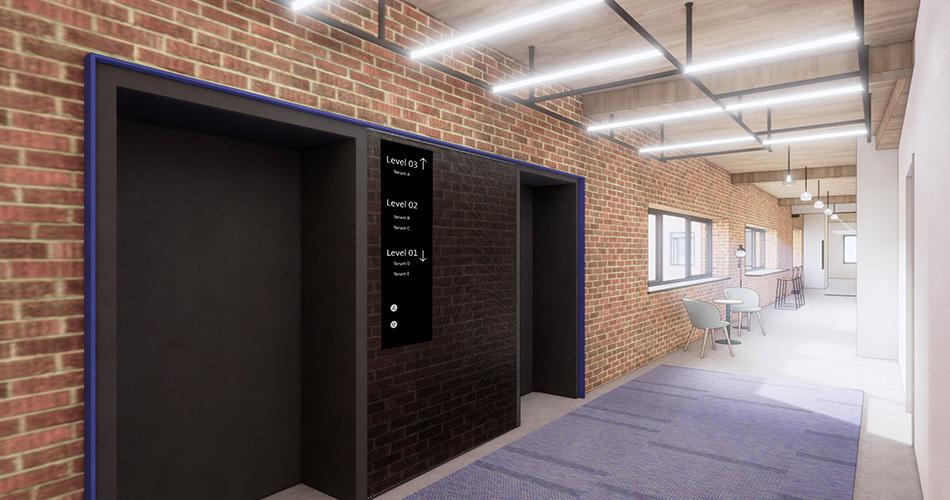Hyde development nordost exchange hallway