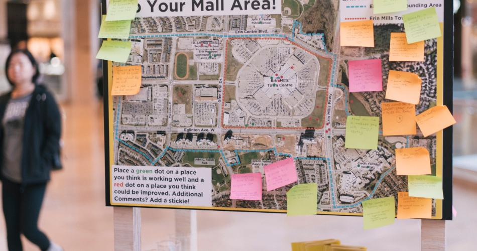 Gladki mall planning