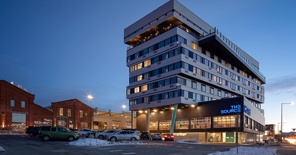The source hotel dynia architects